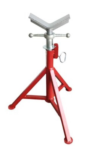 Pipe Jack Stands >> B B 4101 Jack Stand Hd V Head 12 Pipe 32 48 H 3000 Lbs