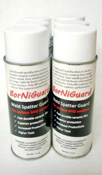 One spray coating lasts hours. Suitable for Manual, Robotic & Resistance Welding -  Apply to welding fixtures and torch tips to repel spatter
