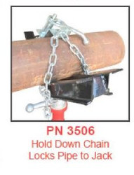 B&B 3506 Hold Down Chain Clamp for 3500