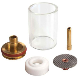 "CK D4GS418LD Gas Saver Kit 1/8"" Glass Cup 4 Series Large Diameter"