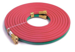 "HTDT31625BB Welding Hose Grade R 3/16"" x 25' BB Fittings"
