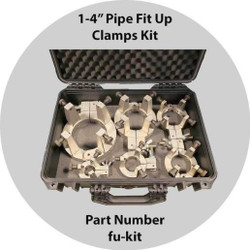 "Fit Up Clamp Kit FU-KIT 1""-4"" for Pipe Welding"