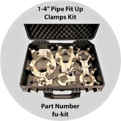 "Tack Weld Fit Up Clamp Kit FU-KIT for PIPE 1.0"" - 4.0"""