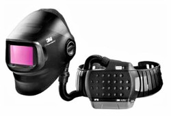 G5-01 Heavy-Duty Welding Helmet, Shade 5, 8 to 14, with ADF G5-01 and 3M™ Adflo™ High-Altitude PAPR