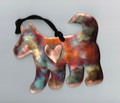 Copper Sled Dog Ornament