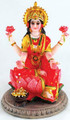 Laxmi on Lotus Statue