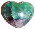Fluorite Heart china AAA xtra quality 30 mm