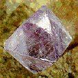 Fluorite Octohedron multicolor 25-30 mm