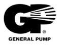 3413D Rail for General Pump 47 Series