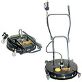 "WHISPER WASH GROUND FORCE 24"" ROTARY CLEANER W/WHEELS (4 NOZZLE TIP UPGRADE)"