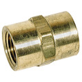 STEEL HEX COUPLER 3/8 FPT, 5000 PSI