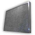 EZ Kleen 15.5x15.5x2 Aluminum Mesh Filter W/Locking Handles