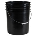 BUCKET BLACK 5GAL ROUND