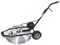 "Steel Eagle 30"" Surface Spinner w/ Square Tube Frame, Straight Handle - 5000 PSI"