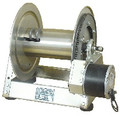 Steel Eagle Fire Division, Hydraulic Hose Reel with Electric Rewind - Powder‐Coat Painted, Steel Framed