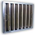 Kleen-Gard 25x16x2 Aluminum Baffle w/ Bale Handles and J-Hooks