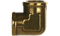 "3500-06-06 BRASS ELBOW, 3/8"" Female, 90°"