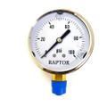 """299 - S.S. Pressure Gauge, 1/4"""", 0-100 PSI"""