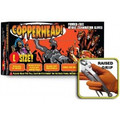 Copperhead Heavy Duty Powder Free Orange Nitrile Gloves w/Tactical Grip (XXL) **FREE SHIPPING** Case of 900 Gloves