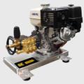 BE Pressure Washer - Gas, GX390, 4000PSI 4GPM, 390CC, EZ4040G, Alum, Truck Mount