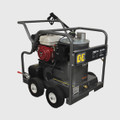 BE Pressure Washer - Hot Water, Diesel, GX200 HONDA, 2700PSI, 2.5GPM, AR Pump