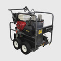 BE Pressure Washer - Hot Water, Diesel, GX390 HONDA, 3500PSI, 4GPM, AR Pump