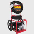 "BE High Pressure Pump - 2"" 210CCP, Powerease Fire Cart w/ Hoses & Fittings"