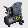 BE - 6 Gallon Horizontal Compressor, 6gal, 2hp, 120V, 125PSI, 3450RPM