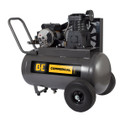 BE - 20 Gallon Horizontal Compressor, 3HP, 5.7CFM @ 90PSI