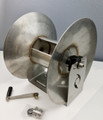 """HOSE REEL S.S. 1/2"""" X 150' CAPACITY 500 PSI SUITABLE FOR USE WITH SH"""