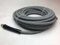 CASE OF 4 - PRESSURE WASH HOSE - SINGLE WIRE, GRAY 50' ROUGH SKIN, NON MARKING 4000 PSI 275 DEGREE **FREE SHIPPING**