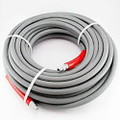 CASE OF 4 - PRESSURE WASH HOSE - 2-WIRE GRAY, 50' ROUGH SKIN, NON MARKING 6000 PSI 275 DEGREE **FREE SHIPPING**