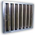 Kleen-Gard 19.5 x 10 x 1.88 Galvanized Grease Filters w/ Bale Handles (Q-12658-1)