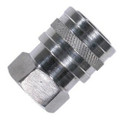 "QC SOCKET 1/4"" FNPT STAINLESS STEEL"