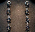 Black Star Diopside Earrings 001