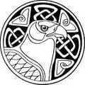 Celtic Bird Eagle