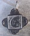 Rustic Monogram G Pendant