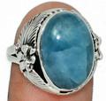Aquamarine Ring 005