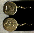 Paw Print Earrings 023