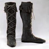 Men's Suede Front-lace Boot