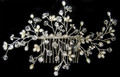 emme cb 226 Lovely Pearl, Crystal & Rhinestone Comb
