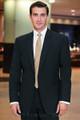 Stephen Geoffrey Black Suit Style J 402