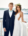 Michael Kors Navy Sterling Wedding Suit Style J 372
