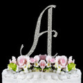 Completely Covered ~ Swarovski Crystal Wedding Cake Topper ~ Letter