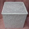 White Rhinestone Beaded Box  RENTAL