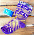 Jack Russell Socks - Children's in Purple