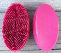 Curry - Soft Rubber Oval Face (Pink)