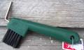 Hoof Pick - Brush Combo (Green)