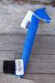 Hoof Pick - Horse Head w/Brush (Blue)