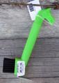 Hoof Pick - Horse Head w/Brush (Lime)